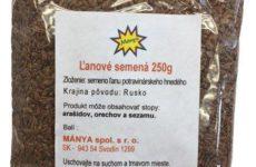 Ľanové semená 250g