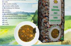 Pestrá šošovicová polievka