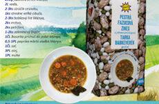 Pestrá fazuľová polievka